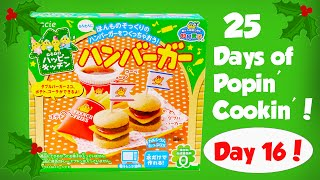 Making Fast Food Burgers and Fries! Day 16 of the 25 Days of Popin Cookin