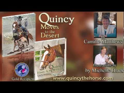 Quincy Moves To The Desert Book Trailer