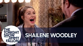 Shailene Woodley Teaches Jimmy Meryl Streep's Big Little Lies Scream