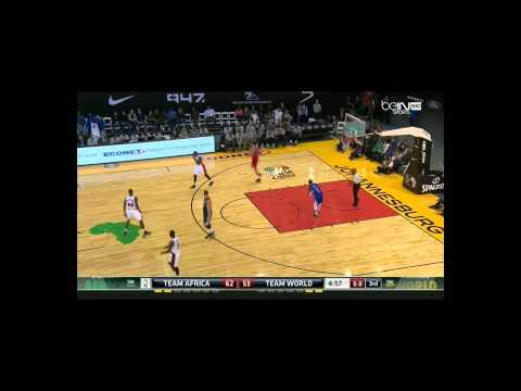 Basketball NBA Africa Game - 08-01-2015 -  Africa VS World - BeinSport (French Version 1h40)
