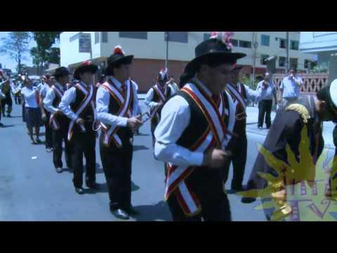 Pasacalle Folklore FEDILUZ Mariscal Luzuriaga Piscobamba IntiTV