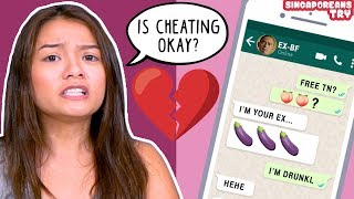 Singaporeans Try: Relationship Dilemma Questions