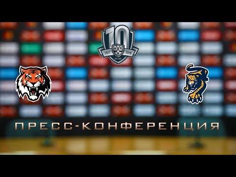 06.11.2017 / Amur - HC Sochi / Press Conference