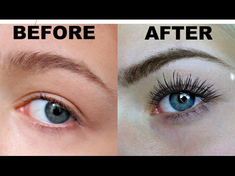 MASCARA ROUTINE FOR STRAIGHT LASHES + Babe Lash Review!