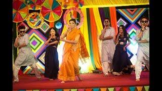Bangladeshi Holud Dance Performance.
