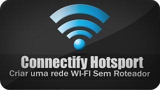 Como Criar uma Rede Wi-fi sem (Roteador)