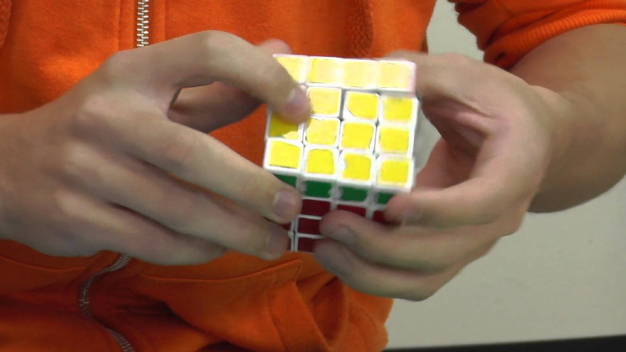 4x4 rubiks cube world record
