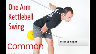 Kettlebell Swing Common Mistakes
