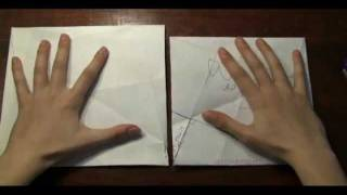 Origami Proof of the Pythagorean Theorem