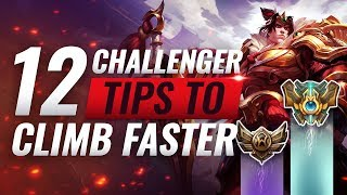 12 Easy Challenger Tips To Help You Climb Faster - League of Legends