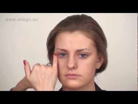Видео как правильно наносить тональный крем