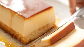 クリームチーズ・プリンケーキの作り方 Cream Cheese Custard Pudding Cake|HidaMari Cooking