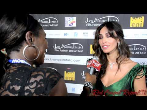 Madalina Ghenea at 8th Annual Los Angeles Italia Film, Fashion and Art Festival @Madalina_Ghenea