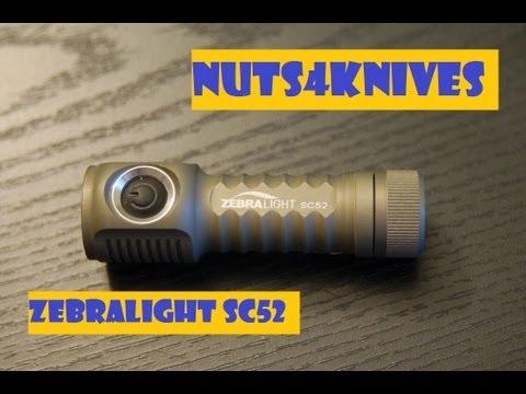 Zebralight SC51w LED Flashlight Review | How To Save Money ...