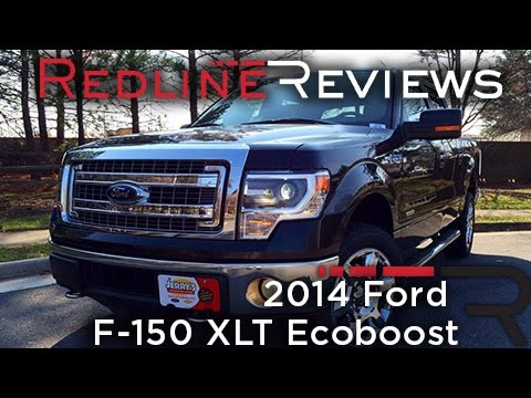 2014 Ford F-150 XLT Ecoboost Review, Walkaround, Exhaust, & Test Drive