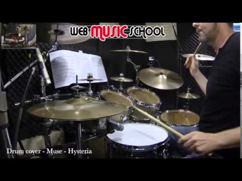 Muse - Hysteria - DRUM COVER