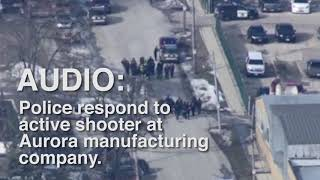 Police dispatch respond to active shooter situation in Aurora