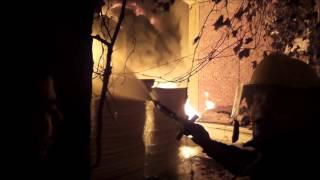 مشاهد من حريق ميت نما