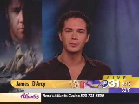 James D'Arcy M&C interview