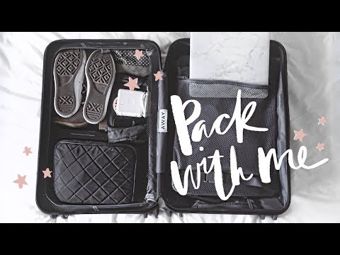 Pack With Me! How I Organize My Carry-On Suitcase