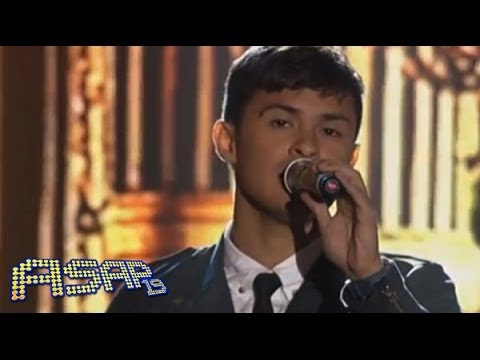 Matteo Guidicelli sings All Of Me on ASAP birthday stage