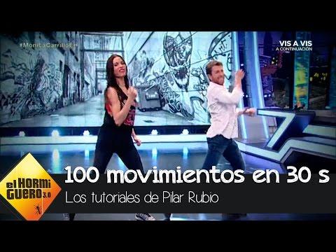 Pilar Rubio, Pablo Motos y su 'Macarena de los 100 pasos' - El Hormiguero 3.0