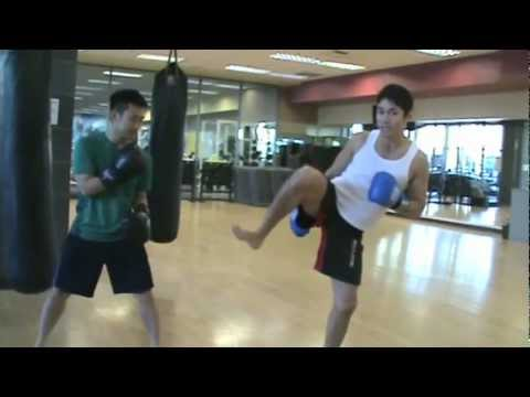Pt. 2 San-Shou (Sanda) style Side-Kick with Coach Jason Yee Image 1