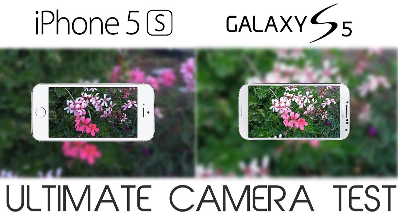 Camera Iphone 5s vs Galaxy s5 Galaxy s5 vs Iphone 5s