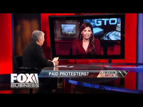 Judge Napolitano. DC Occupy Wall street. getting hijacked from Ron Paul supporters.