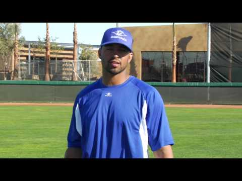 Outfield drills with Jason Bay, Matt Kemp, Rocco Baldelli and Andre Ethier Video