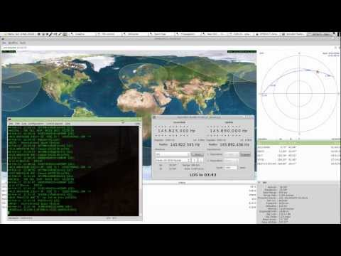 Linux HamRadio: Packet Radio from ISS (Linux + gPredict + hamlib + PK-96)