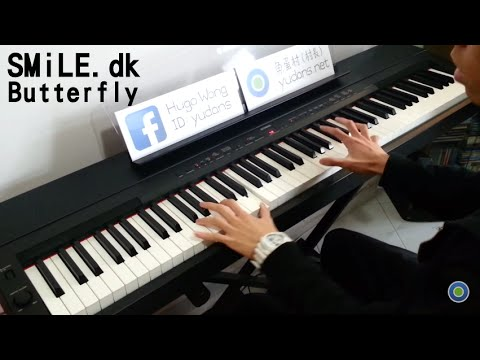 Smile.dk - Butterfly [piano Cover By Hugo Wong] video