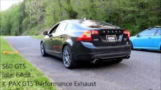 Volvo S60, K-PAX GT5 Performance Exhaust