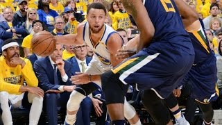 Stephen Curry Banks a Corner 3! Green Returns After Injury! Jazz Warriors Game 2