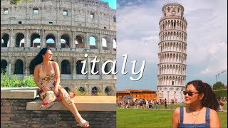 ITALY PART 2, Rome + Florence! | VLOG