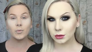 ICONIC Black and Silver Cut Crease Makeup Tutorial | Makeup Monday