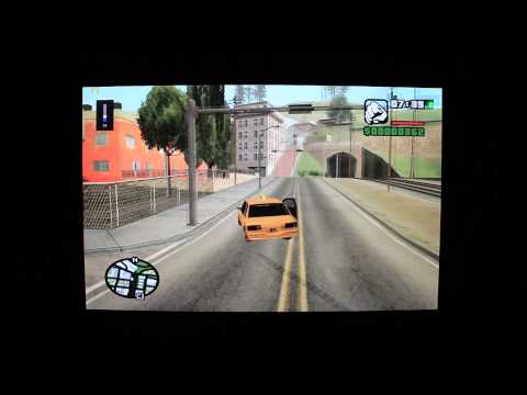 GTA San Andreas на планшете Windows 8.1 Pipo W3 intel 3775