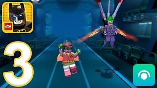 LEGO Batman Movie Game - Gameplay Walkthrough Part 3 - Robin (iOS, Android)