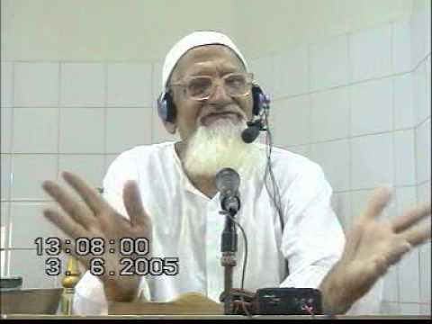 Nufs Ki Ghulami Maulana Ishaq fri 03062005