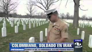 Colombian marine say his story