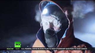 Gruelling challenge: Man runs 50 km through wilderness of Siberia in -60°C