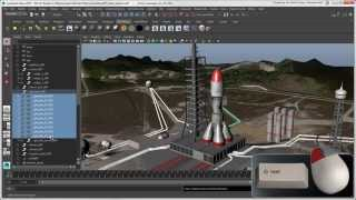 Softimage to Maya Bridge: Selecting Objects in Maya
