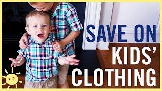 BUDGET | Save $$$ On Kids Clothing!!