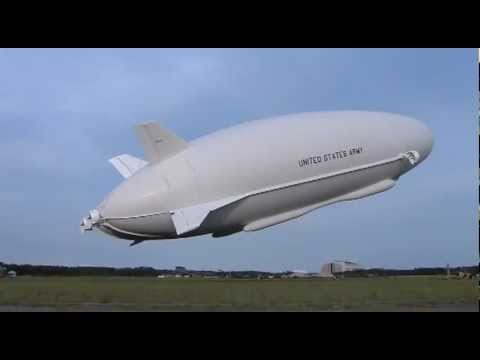 Northrop Grumman - Long Endurance Multi-Intelligence Vehicle (LEMV) First Flight [480p]