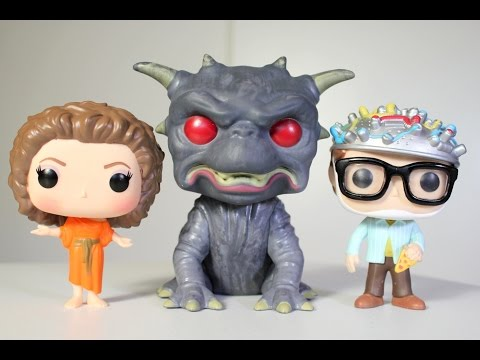 Ghostbusters GATE KEEPER. ZUUL. & KEY MASTER Funko Pop 3-pack review