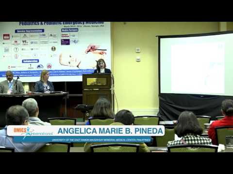 Angelica Marie B  Pineda | Philippines  | Pediatric Emergency Medicine   2016 | Conferenceseries LLC