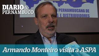 Armando Monteiro participa de palestra na ASPA