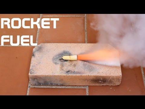 Como hacer Combustible Casero para Cohetes (R-Candy)
