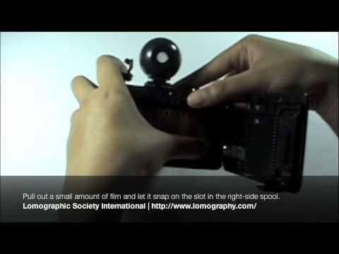 Loading 35mm film to your Lomography Fisheye/Fisheye 2 camera