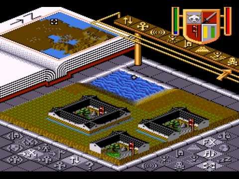Populous - Day of the Dark Samurai (SNES) - Vizzed.com GamePlay - User video